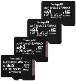 Kingston micro sd memory card 16gb 32gb 64gb class 10 Flash