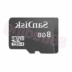 New 8GB San Disk Micro SD + Memory Card Reader FOR LG MOBILE