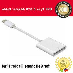 New USB Type C OTG Adapter Cable to SD-Card Reader for Cellp