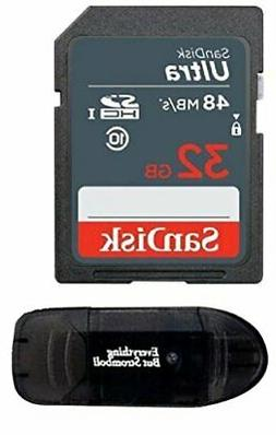 Sandisk 32GB SD SDHC Flash Memory Card works with NINTENDO 3