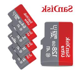 New SanDisk Ultra 16GB 32GB 64GB micro SD HC Flash Memory Ca