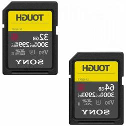 SD Card SONY UHS-II Tough G-Series SF-G32T SF-G64T From Japa