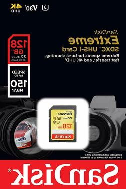 Sandisk SD Extreme Memory Cards 16GB 32GB 64GB for Cannon, N