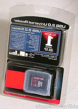 Delkin 16GB SDHC 163X Class 10 Memory Card with USB 2.0 Univ