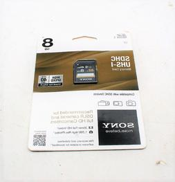 Sony SDHC UHS-I Memory Card Compatible w SDHC Devices 8GB SD