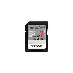 Sony SF-M256/T2 256gb Uhs-ii Sd Card R277 W150 V60