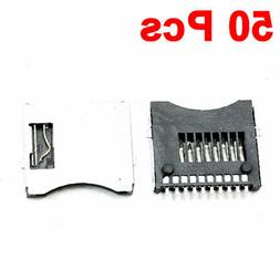SMT Surface Mount Pull-Out Type Micro SD Card Sockets Replac