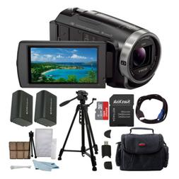 Sony HDR-CX675 Handycam Full HD 1080p Camcorder with 64GB Mi