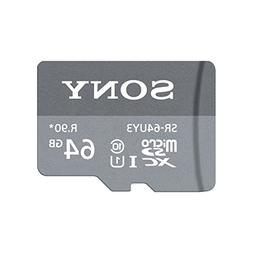 Sony SR-64UY3A/GT High Speed 64GB Class 10 Micro SDXC UHS-I