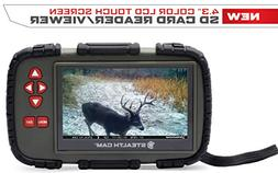 """Stealth Cam 4.3"""" Color LCD Touch Screen SD Card Reader/Viewe"""