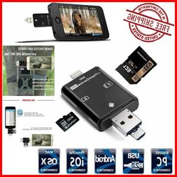 Trail and Game Camera Viewer All SD Card Reader for Samsung