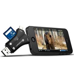 Trail Camera Card Reader Viewer for iPhone iPad Mac & Androi