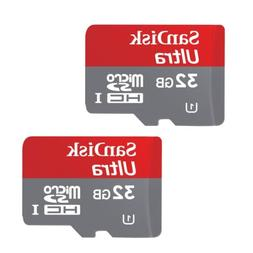 SanDisk 32GB Ultra Micro SD HC Class 10 Memory Card for GoPr