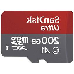 SanDisk Ultra 200GB microSDXC UHS-I card with Adapter - 100