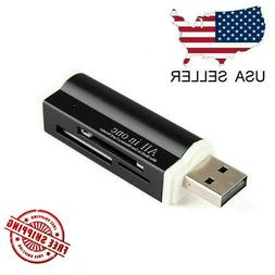 USB 2.0 All in One Memory Card Reader For : MICRO-SD SD TF S