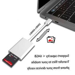 USB-C Type-C to SD Card Camera Reader Adapter For Apple Macb