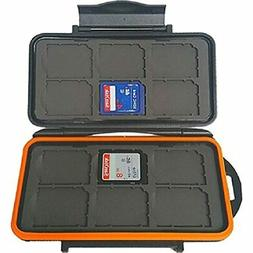 Weather-Resistant Storage Case For Trail Camera SD Memory Ca