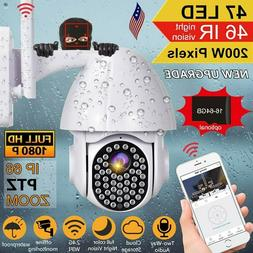 wifi camera 1080p with sd card outdoor